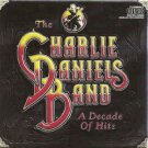 charlie daniels band - a decade of hits CD 1983 1987 epic 10 tracks used like new