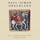 paul simon - graceland - 25th anniversary edition CD + DVD 2012 sony legacy used like new