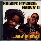 robert ffrench, heavy d ... and friends CD 1995 RAS 12 tracks used like new