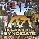 infamous syndicate - changing the game CD 1999 relativity 14 tracks used like new