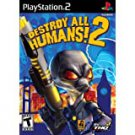 playstation 2 - destroy humans! 2 THQ 2006 Teen used