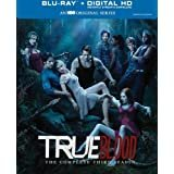 true blood - complete third season bluray 5-discs 2011 HBO 18 years or more 659 mins used like new