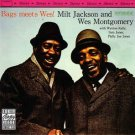 milt jackson and wes montgomery - bags meets wes! CD 1987 ojc 10 tracks used like new
