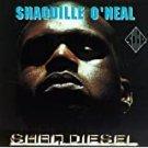 shaquille o'neal - shaq diesel CD 1993 jive zomba 12 tracks used like new
