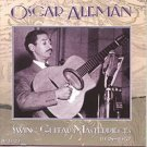 oscar aleman - swing guitar masterpieces 1938 - 1957 CD 2-discs 1998 acoustic disc used like new