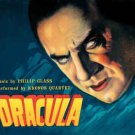 dracula - music by philip glass performed by kronos quartet CD 1999 nonesuch like new
