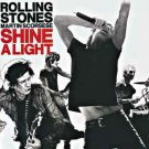 rolling stones + martin scorsese - shine a light CD 2-discs 2008 polydor interscope used like new