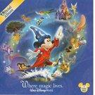 walt disney world - where magic lives: official album CD 2-discs 2006 used like new
