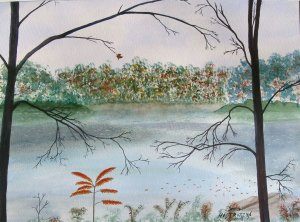024 Farewell to Autumn - SOLD