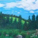 001 PRINT - Split Rail Fence (Original not available)
