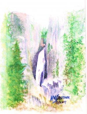 016 PRINT - Porcupine Falls (Original not available)