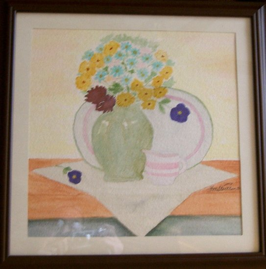 043 The Green Vase