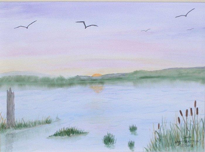 045 Marsh at Sunset