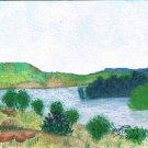 035 PRINT - Neck Bay, Tongue River Reservoir (Original not available)