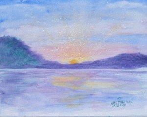 107 Lavender Sunrise