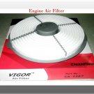 Engine Air Filter Fits:WIX 46183 Fram CA4940 Toyota Trecel 1987-1990 L4 1.5L