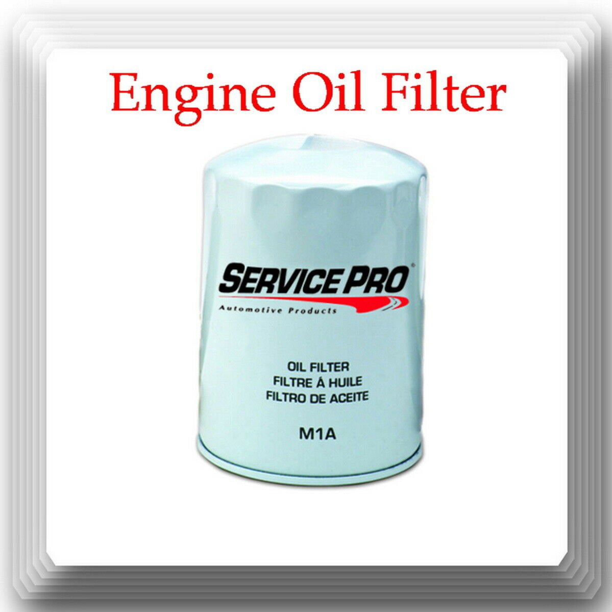 Eng Oil Filter Service Pro M1A Fits: Fram PH8A WIX 51515 GM Chrysler Ford Toyota