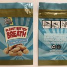 100 Peanut Butter Breath 7g Mylar Bags - Heat-seal, resealable, smell-proof