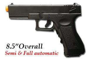 JLS 2011B Airsoft Electric Pistol Full Auto
