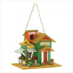 Farmer's Market Birdhouse - 38278