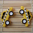 yellow taxi stud earrings