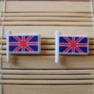 British flag stud earrings