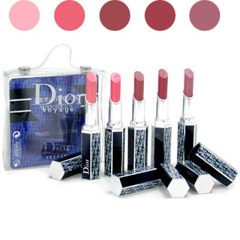 CHRISTIAN DIOR- VOYAGE LIPSTICK WINNERS COLLECTION- 5PC