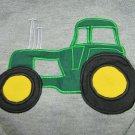 JERZEES Big Green Tractor Applique Sweatshirt Size Boys Med 8-10