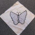 Lot of Nine Antique Handmade Quilt Blocks 1920s Patchwork Butterfly