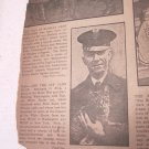 1924 Newspaper Clipping Coolidge White House Pet Cat Tige Found