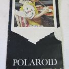 Vintage Polaroid Polacolor Color Film Launch Mailer Brochure c. 1963