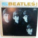 BEATLES Meet the Beatles LP Record Album Capitol T-2407 Monophonic Microgroove 1964 Original