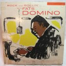 FATS DOMINO Rock and Rollin' LP Record Album Imperial LP-9004 Mono Maroon Label 1956
