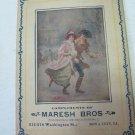 Antique 1905 London Needle Co. Maresh Bros. Iowa City Needle Set Advertisement Card