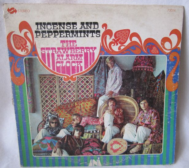STRAWBERRY ALARM CLOCK Incense and Peppermints Vinyl Record Univ MCA 73014 Stereo 1967