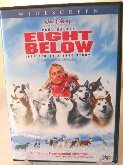 Eight Below Walt Disney Pictures Widescreen Edition DVD with Case 2006 PG Huskies Movie