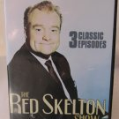 Red Skelton 3 Classic Episodes DVD with Case 2004 75 Minutes