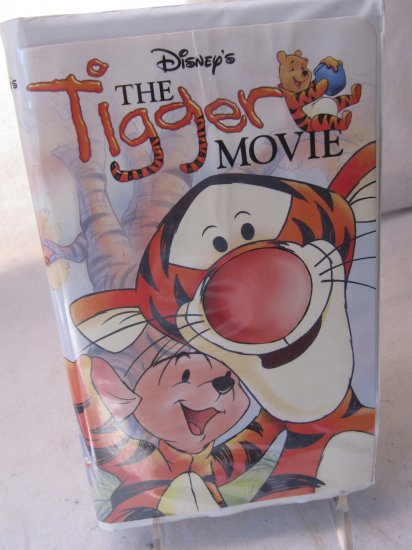 The Tigger Movie Walt Disney Pictures VHS Video Movie in Case