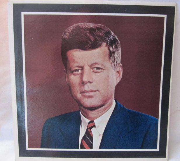 JOHN FITZGERALD KENNEDY JFK Tribute 1963 Speeches Diplomat D 10,000 LP Vinyl Record Album