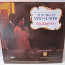 GREAT VOCALISTS OF THE BIG BAND ERA Longines MCA DL 734665 SY 5207 LP Vinyl Record