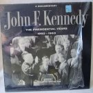 JOHN F. KENNEDY JFK Presidential Years 1960-1963 Documentary TFM 3127 Mono LP Vinyl Record Album