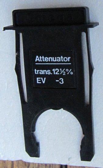 OMEGA Attenuator Trans. 12.5% EV -3 for Use with Omega C760 Enlarger