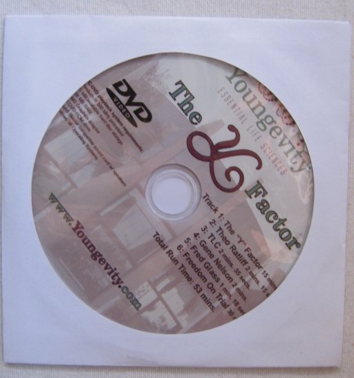 Youngevity The Y Factor, Freedom on Trial 2006 DVD Video 53 Minutes