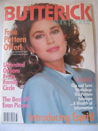 Butterick Home Catalog Work Perfect Magazine Fall 1987 Issue 88 Pages