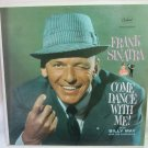 FRANK SINATRA Come Dance with Me Capitol W1609 Original 1959 LP Vinyl Stereo Record Album