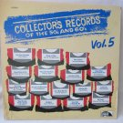 Collector's Records of the 50's and 60's Vol. 5 LP Record Album Laurie Records LES4021