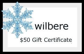 Wilbere Store $50 Gift Certificate Gift Card