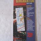Vintage 2003 Mapworks Road Highway Map Greater Binghamton NY Broome Cty Deposit Lisle Whitney Pt