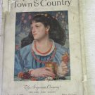 Town & Country Magazine January 1, 1926 Issue Vol. 81 No. 3927 Published by Stuyvesant Co.