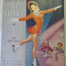 Vintage Ice Follies of 1949 Program Shipstads & Johnson Fountain of Versailles